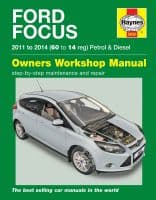 Ford Focus 1.0 1.6 Petrol 1.6 Diesel 2011-14 (60 to 14 reg) Haynes Repair Manual
